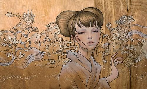 painting-audrey-kawasaki-female-japanese